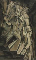 Nude Descending a Staircase (No. 2), Marcel Duchamp