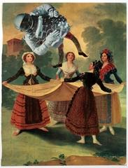 Untitled (Goya), (detail) , Erró