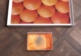 Digital Light Pool (Orange) , Hayley Tompkins