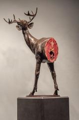 Untitled Deer Study, Jesse Berlin