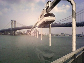 A Proposal for a Rail Link Connecting Midtown Manhattan, 2 Pulaski St, Brooklyn and Coney Island, Martin McCormack
