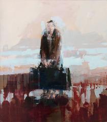 Traveler with Luggage, Alex Kanevsky