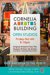 Cornelia Arts Building Open Studios - 10/4/2013,