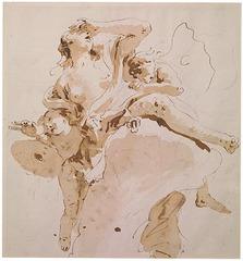 Psyche Transported to Olympus, Giambattista Tiepolo