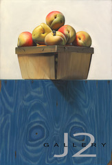 Peaches, 2012 Oil on Panel 18 x 26.5in., Kevork A. Cholkian