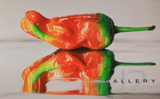 Pepper,2011 Oil on Canvas 30 x 48in., Kevork A. Cholkian