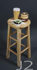 16 / 16 Sugar Fix Hand formed, Slip cast, glazed ceramic 29 x 12 x 12ins., Kevork A. Cholkian