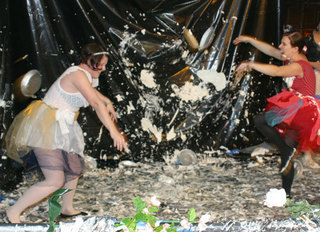Ballerina Pie Fight,Charlie Anders