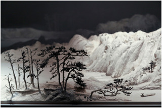Living in the Fuchun Mountains (detail), Wang Qiang