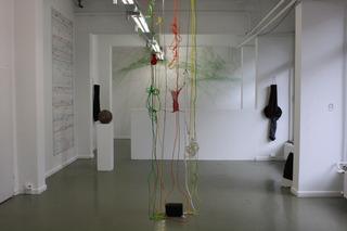 installation view , Beat Zoderer, Annebarbe Kau, Heike Weber, Reinhold Engberding