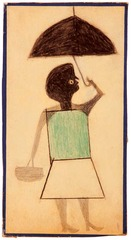Untitled (woman), Bill Traylor