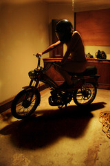 Girlfriend on Moped 2, Courtney Trouble