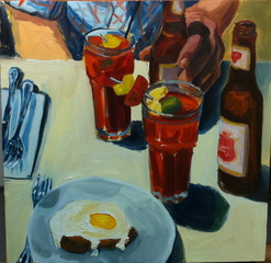 Sketch of a brunch, Tiffany Stronsky