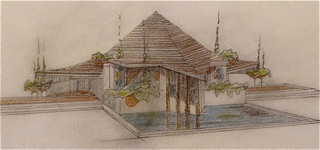 Playhouse No. 0 Oak Park The Goblin #1, Frank Lloyd Wright