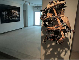 Installation View, Asim Waqif