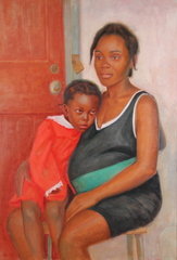 Mother and Child, Donovan Nelson