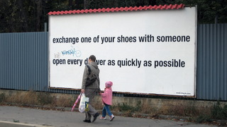 Exchange One of Your Shoes With Someone / Open Every Drawer as Quickly as Possible, Koki Tanaka