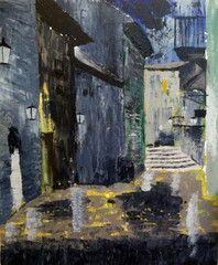 Back Alley, JUDY SCHUMACHER