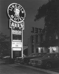 Lincoln Motel & Abe's Disco, Newark, NJ, George Tice