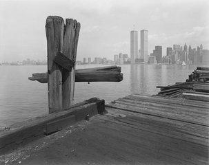 Hudson River Pier, Jersey City, NJ, George Tice
