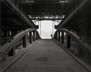 Ferry Slip, Jersey City, NJ, George Tice