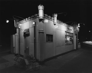 White Castle, Route #1, Rahway, NJ, George Tice