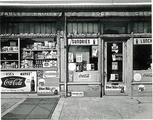 Moses' Market, George Tice