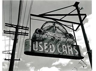 Riverside Auto Sales, George Tice