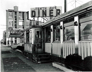 Tenth Ave. Diner, George Tice
