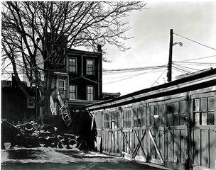 Backyard, Jackson Street, George Tice