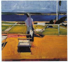 Figure on a Porch, Richard Diebenkorn