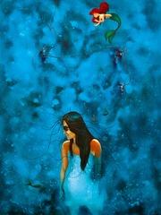 bajo de azul del mar, Saul Alfaro
