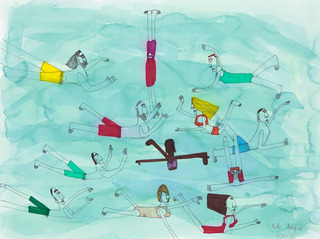 Swimmers, Kate Thompson