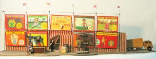 Sideshow Diorama, Gordon Shepard
