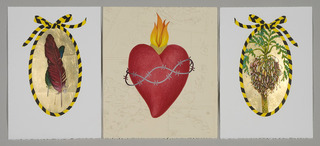 Caution: Hilo (triptych), Eileen Foti