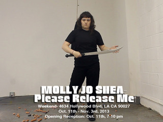 "Still from ""Cold Steel"" performance, Molly Jo Shea"