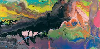 FLOW (933-3) , Gerhard Richter