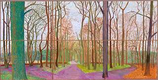 Woldgate Woods, David Hockney