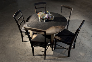The Pearl, Miami studio, process photos , Enrique Martinez Celaya