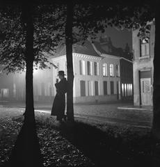 Parc de Mons la nuit, Marcel Lefrancq
