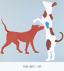 Double Feature: The Set-Up, John Baldessari