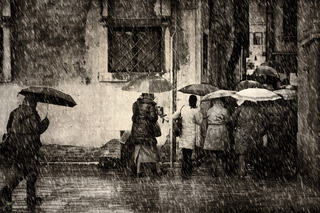 Rain in Venice #4, Jim McKinniss
