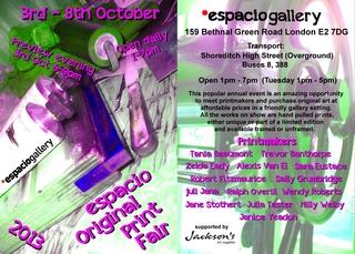 , Espacio Original Print Fair 2013
