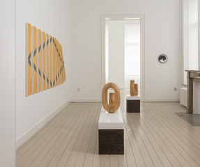 Installation view, Claudia Comte
