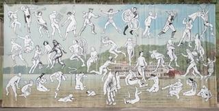 Mississippi River Mural, Jim Shaw