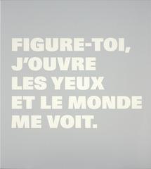 N.T.45a, Rémy Zaugg