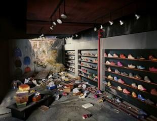 Shoe Store  , Lori Nix