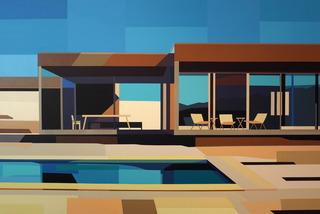 Desert House, Andrew Burgess