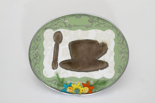 "Souvenir of ""Breakfast in Fur"" , Meret Oppenheim"