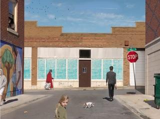 Olive and Market Street  , Julie Blackmon